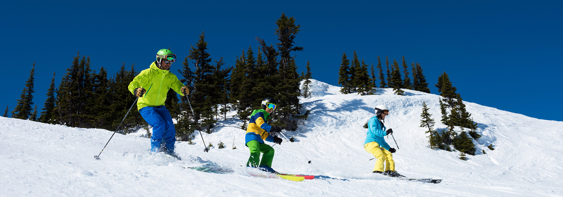 Skiers on Opening Day in Breckenridge, CO | Paragon Lodging
