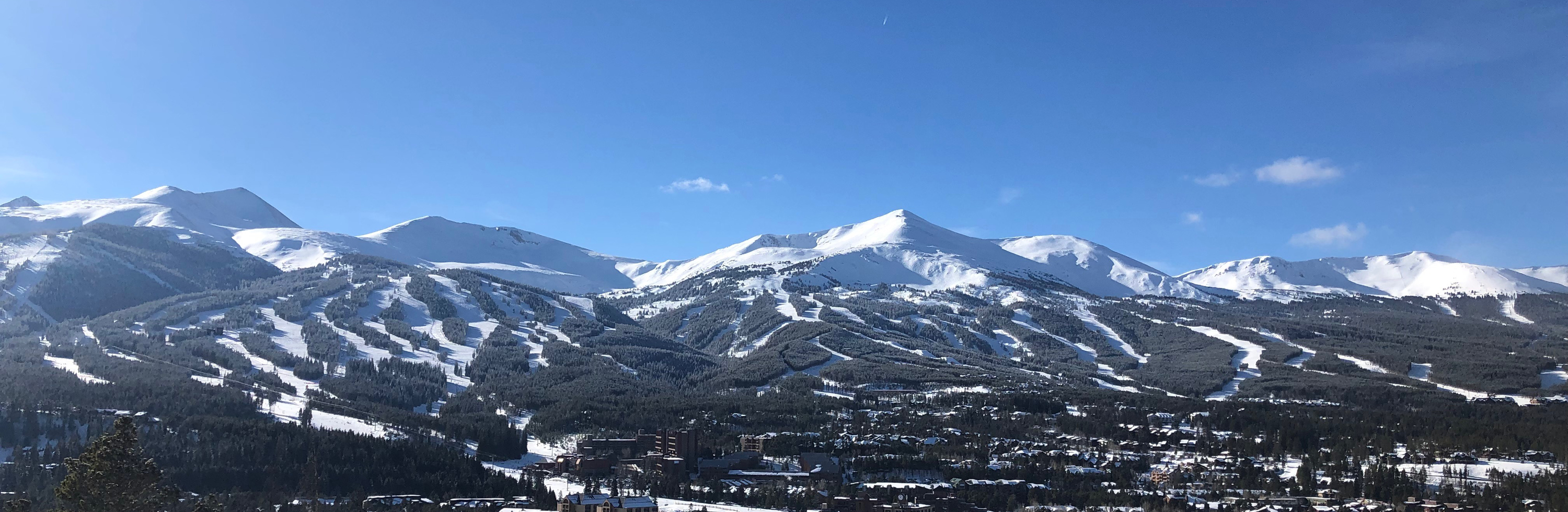 View of Breckenridge Ski Resort