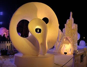 Breckenridge Snow Sculptures