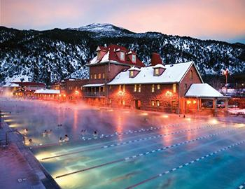 Mountain Hot Springs in Colorado