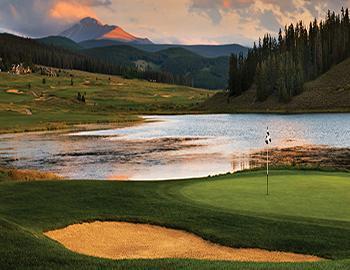 Summit County Golfing in Colorado
