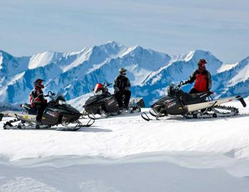 Snowmobile in Breckenridge Colorado