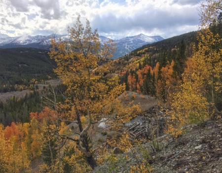 Minnie Mine Trail Overlook | Breckenridge, CO | Paragon Lodging