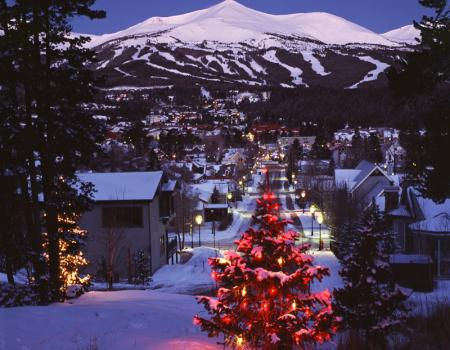 breckenridge colorado christmas vacation rentals