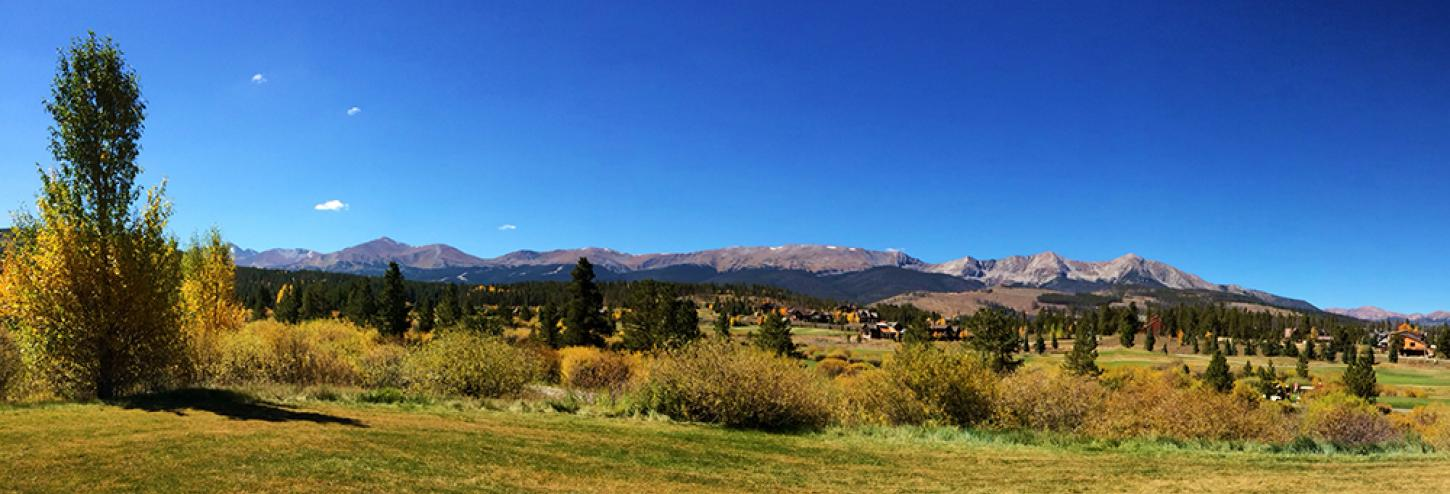 Breckenridge Lodging Views and Breckenridge Activities