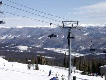 Chairlift at Breckenridge Ski Resort Opening Day | Paragon Lodging