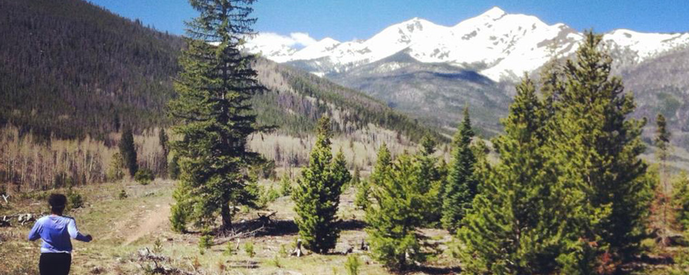 Breckenridge Hike with Snowy Peaks | Paragon Lodging Blog
